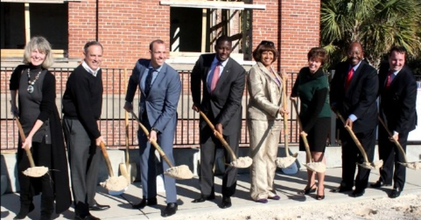 Cascades Holds Groundbreaking for The Edison