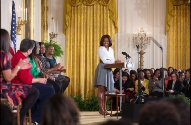 First Lady Michelle Obama Honor Women in Civil Rights