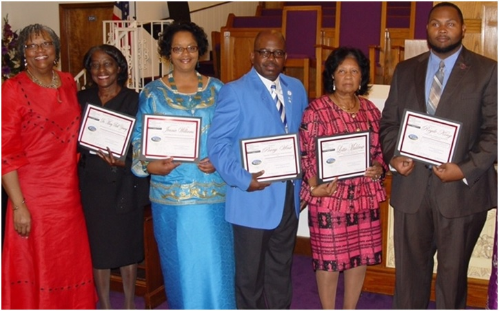 Bethel's Heritage Day Honorees for 2015 include: Malinda Jackson James, Mary B. Young, Jennie Williams, Perry West, Lottie Muldrow, Royle King and Pamela Coleman.