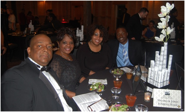 Photos by Eric M. Winkfield Strong & Jones Funeral Home was honored for its business legacy of family entrepreneurship during the awards gala.
