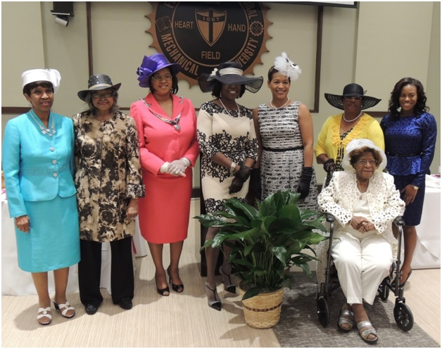 Photos by  Ferrisa Connell Thirteen people were honored March 21 at Florida A&M University Heroines' Tea.