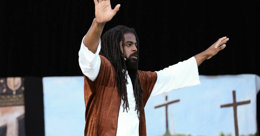 """ The Passion"" Came to Cascades Park"