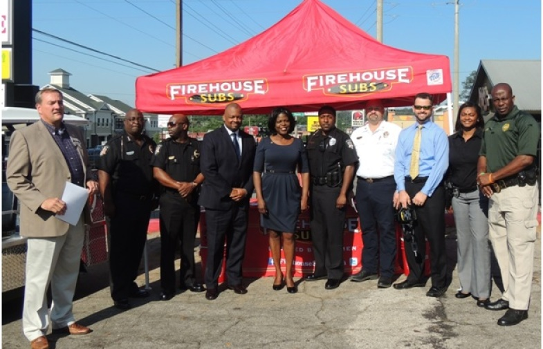 Firehouse Subs Foundation Donates to Area Responders