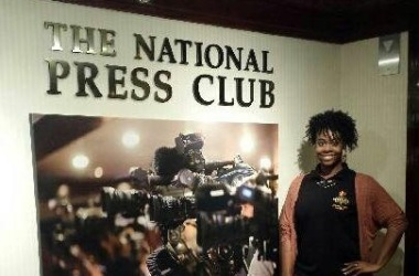 Outlook Reporter Sets Foot  on National Journalistic Stage
