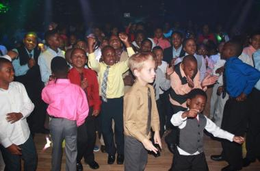 Mother-Son Dance Brings Hundreds to the Moon