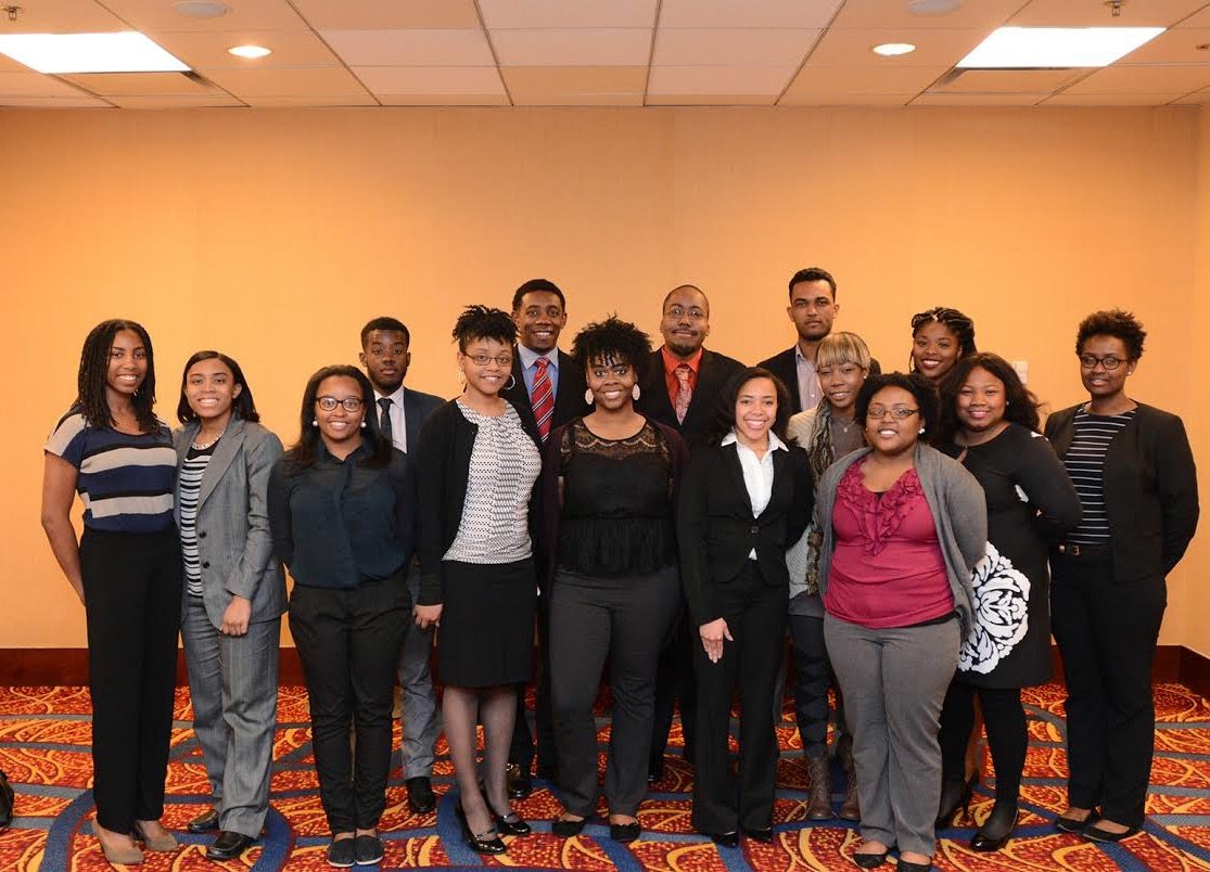 NNPA interns gathered for a photo upon their arrival in Washington, D.C.
