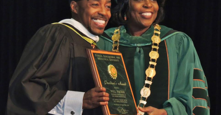 FAMU's Packer Issues a Charge to Graduates