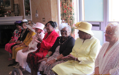 Honorees were honored at  the Inaugural Dr. Eva C. Wanton recognition luncheon. Photo by Kathryn  N. Jones