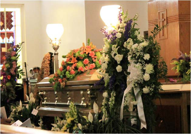 Photos by La'Crai Mitchell Former FAMU Presidents Fredrick Humphries, James H. Ammons and other dignataries honored Smith for his funeral.