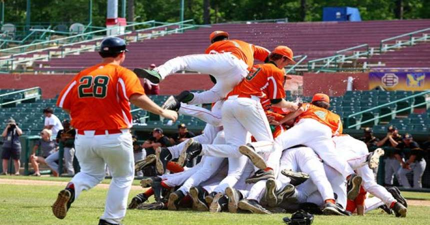 Emotionally Charged Rattlers Savor MEAC Baseball Title Victory