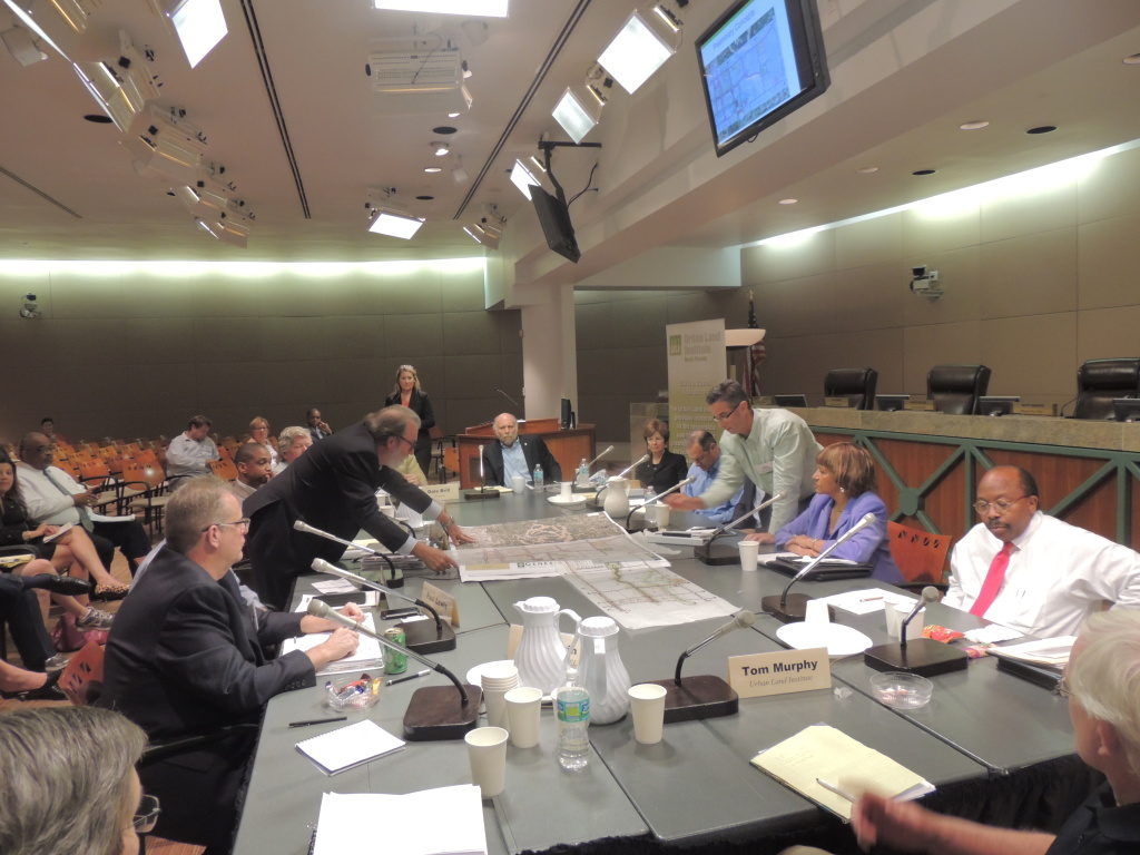 ULI and city leaders spent two days discussing revitalization plans for South City. Photo by Navael Fontus