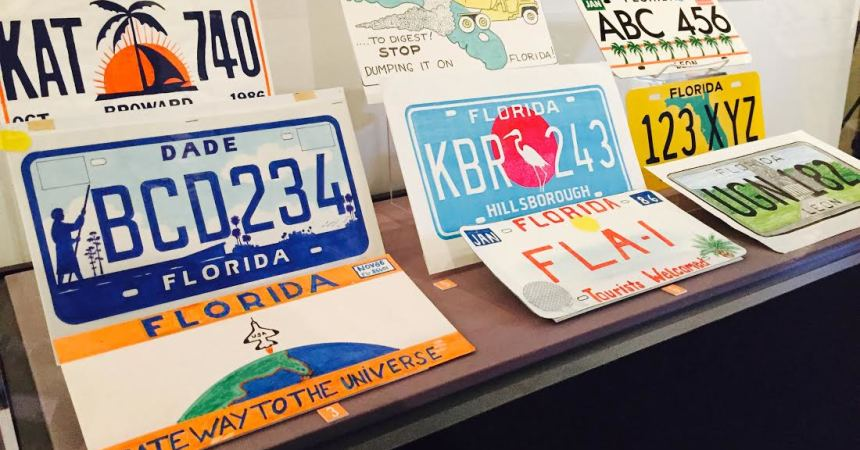 Redesign of Florida License Plate Lives on, History
