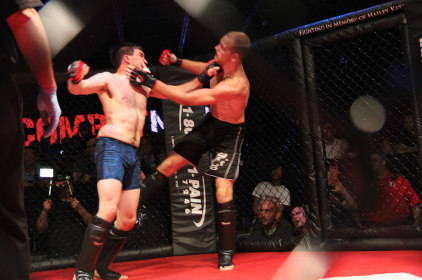 Mixed Results for Local Fighters at MMA Card
