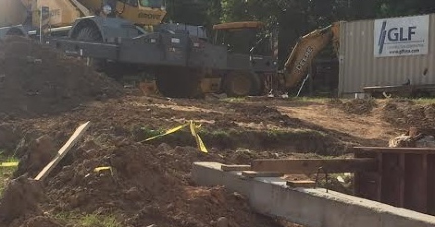 Questions Remain as Construction  Begins on Bridge