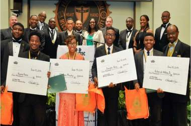 Tallahassee Chapter of 100 Black Men Gives $20,000 to Local Scholars for School This Fall