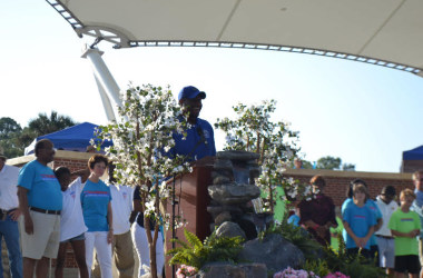 Mayor Gillum, Residents Show Pride in Festive Celebration of All-America Status at Cascades Park