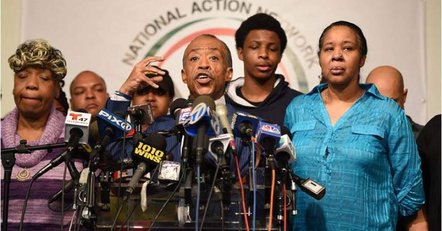 Family Of Eric Garner Renews Calls For Charges Against Officer Who Killed Him