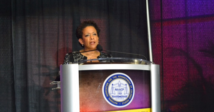 Loretta Lynch to NAACP: 'Our Work is Not Finished'