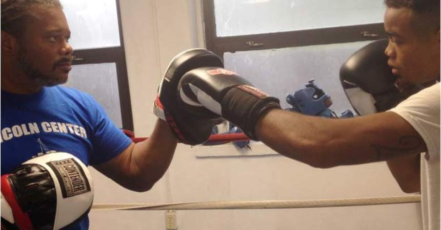 Young Boxer Cooper Fighting to be the Best