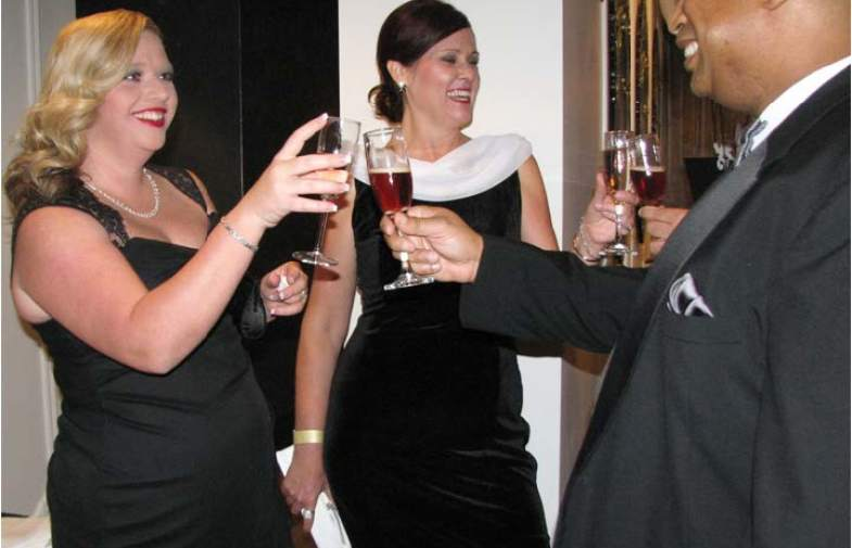 Champagne Bash Held to Raise Dollars for Big Brothers  Big Sisters