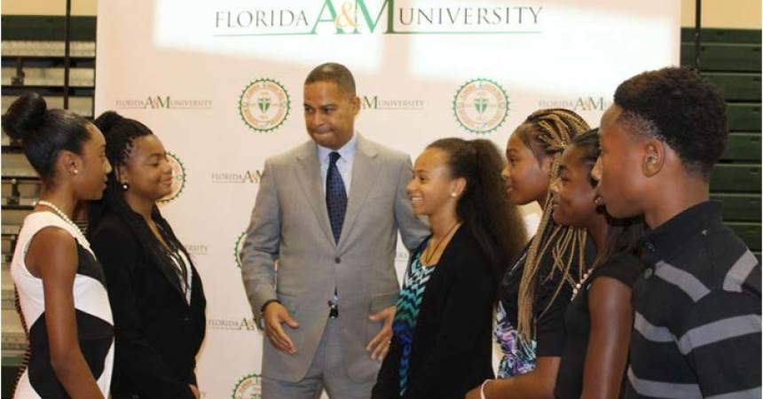 FAMU Announced Historic Partnership with the  Thurgood Marshall College Fund and the University of Phoenix