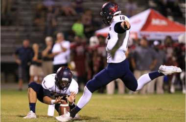 Franks Relishes Double Duty for Wakulla as Kicker,  Quarterback