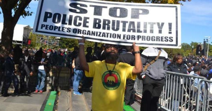 """A Rallying Cry of """"Justice or Else!"""" Marks  the 20th Anniversary of the Million Man March"""