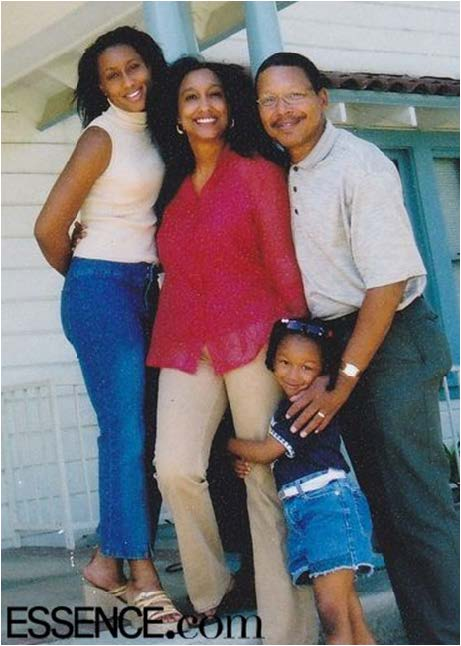 Mitrice Richardson and her family