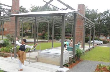 Grand Opening of Smokey Hollow Commemoration in Cascades Park Brings Former Residents Back Home