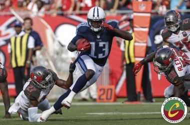 Tampa Bay Buccaneers -14 to Tennessee Titans-42