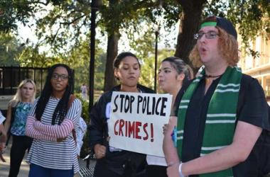 Tallahassee Students and Jones Family Rally 'Justice for Corey'