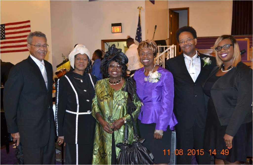 The Poole and Jackson Families with daughter Katurah Poole.