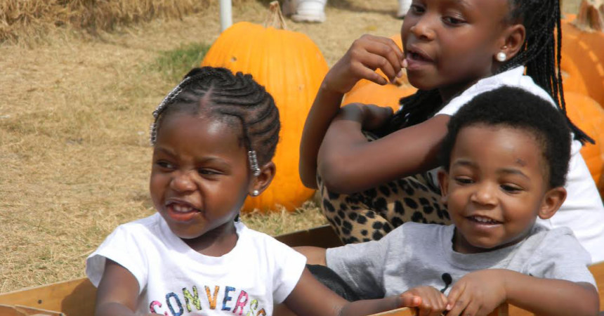 Small Pumpkin Patch Helping  Big World Missions