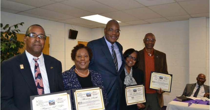 Bethel's 2015 Retirees  Recognized at Annual Retiree Luncheon