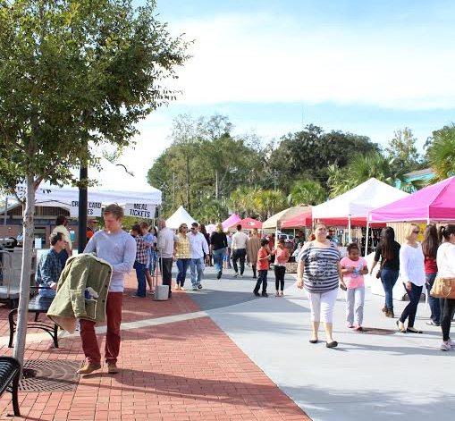 Attendees explored vendor tents and other attractions in Cascades Park. Photos by Bre-Shara McCa