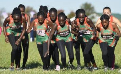 Coach Moore Guides Cross-Country  Team to Fourth Straight MEAC Title
