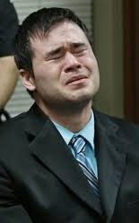 Holtzclaw wept as the guilty verdicts were read.