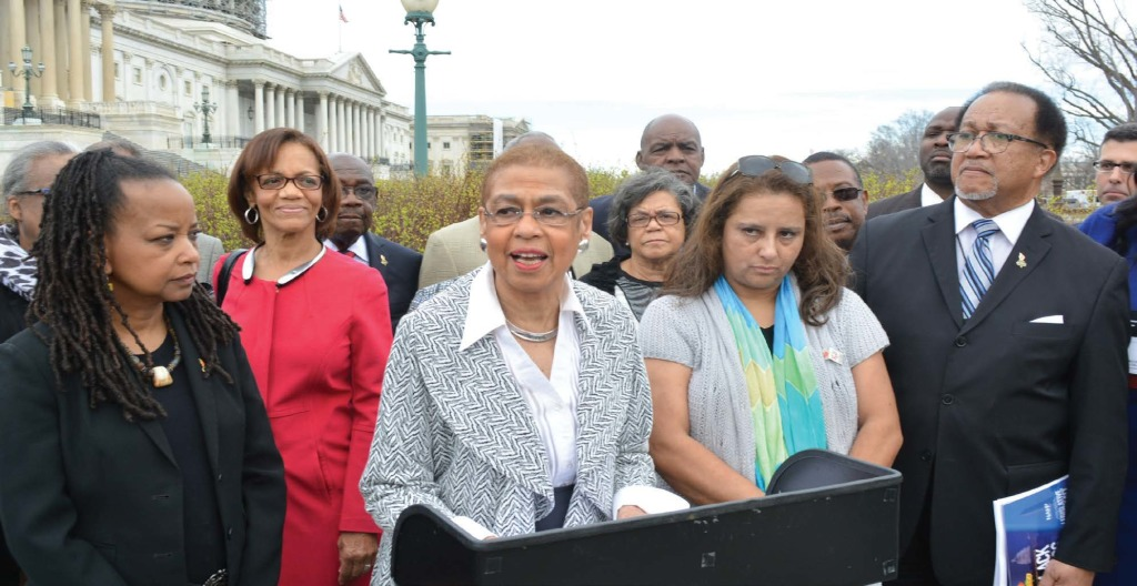 Congresswoman Eleanor Holmes Norton (D-DC) has requested an investigation into federal government spending with Black and Hispanic-owned newspapers. PHOTO: Roy Lewis/Trice Edney News Wire