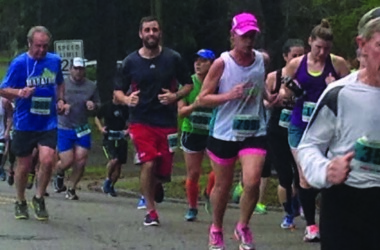 Springtime 10K winners overcome challenge of hilly course