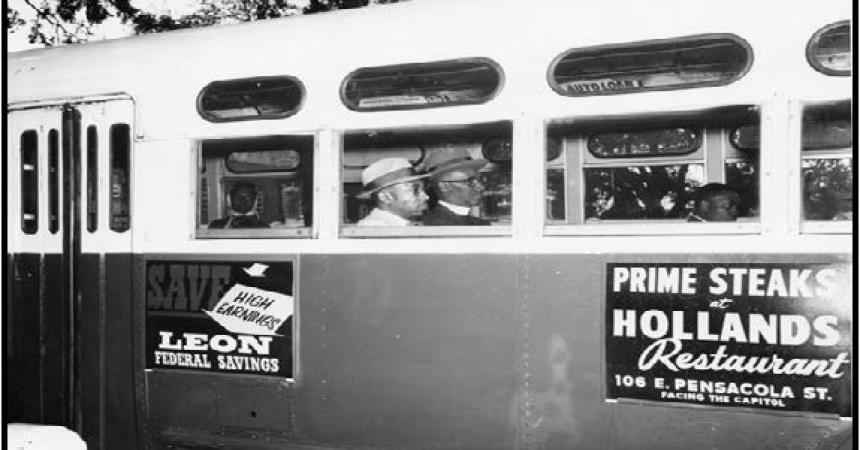 Twenty cents!  Two dimes!  The 1956 Tallahassee Bus Boycott