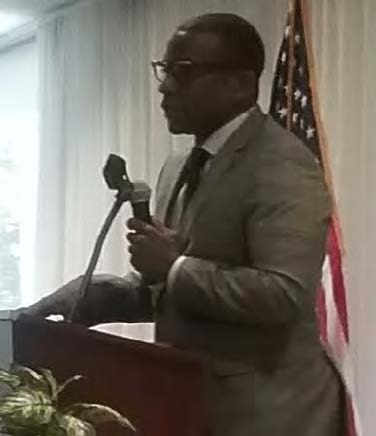 Keith Bowers, regional director for FAMU Small Business Development Center and leader of the Economic Development Ministries at Bethel./ Photo by St. Clair Murraine