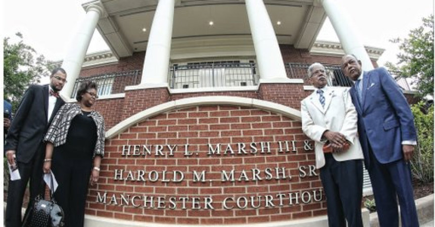 Courthouse named for principals of law firm that led Brown v. Board