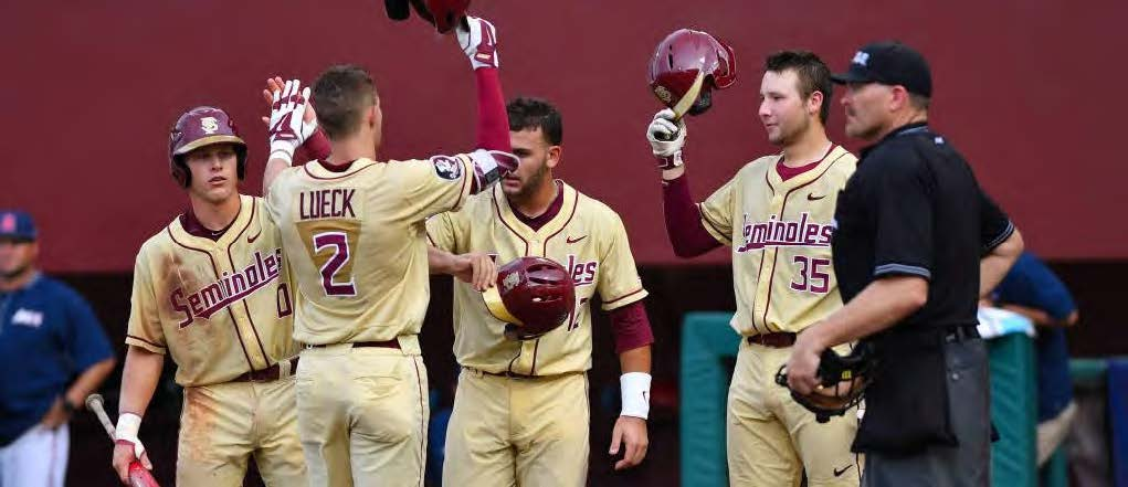 The Seminoles passed the first round of postseason play. A postseason test that prognosticators predicted would be too tough. Photo by Larry Novey