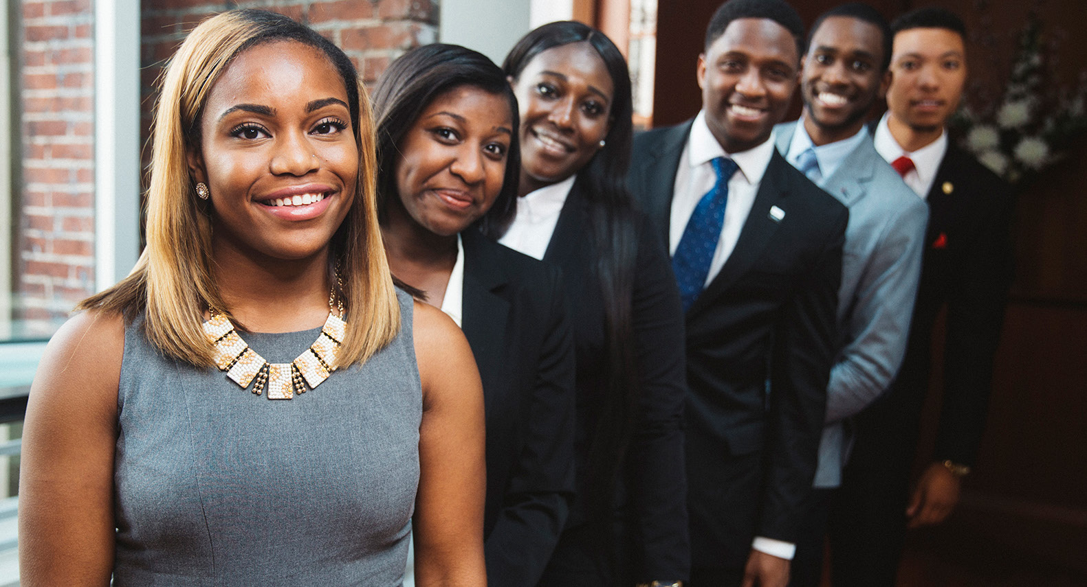 A group of Thurgood Marshall College Fund interns. Photo Courtesy of NNPA