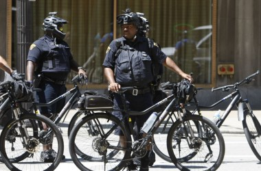 Republican convention: Heavy police presence apparently pays off in Cleveland