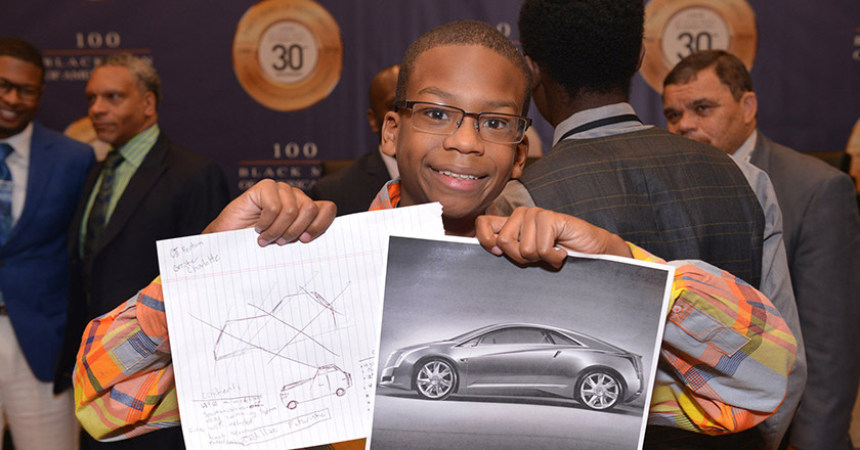 100 Black Men, General Motors encourage young people to pursue stem careers