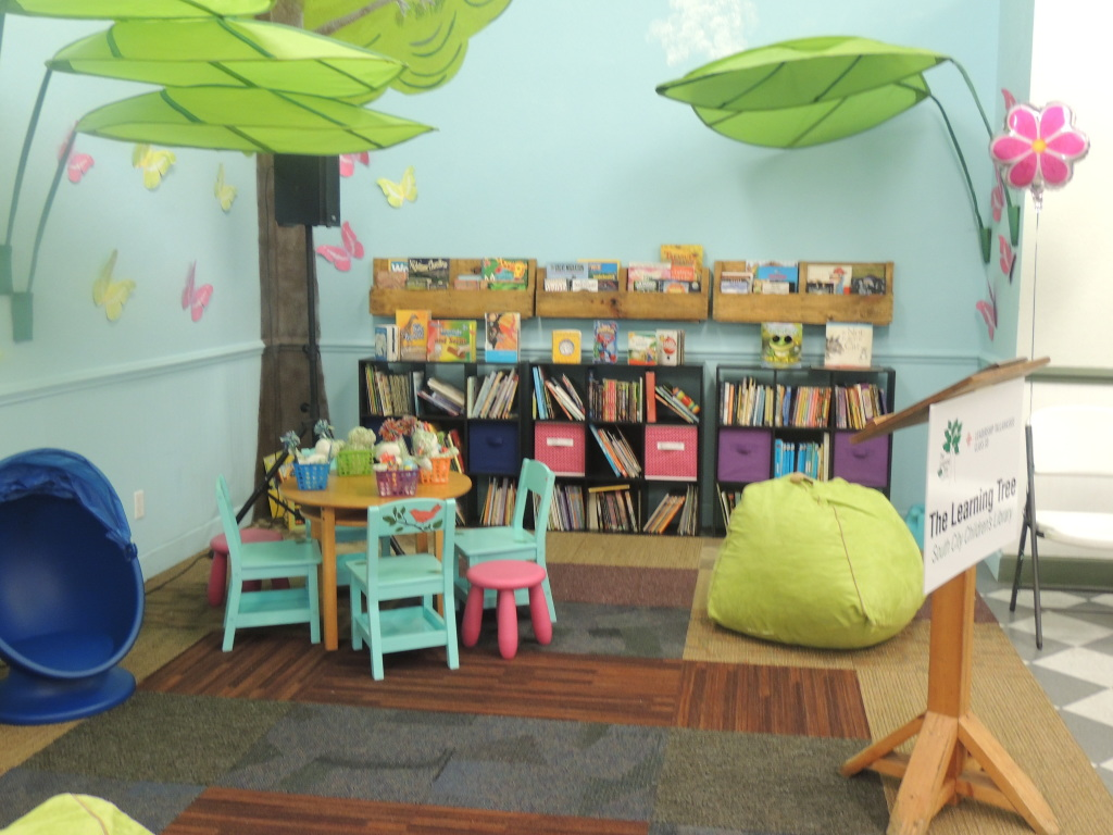 An inside look of the  Learning Tree Library/ Photo by Robyn Murrell
