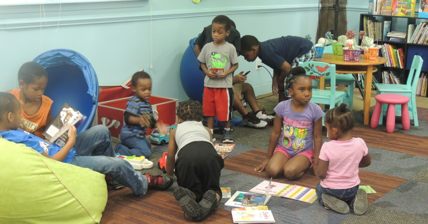 South City's new Learning Tree Library tackles area's low literacy  rate