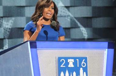 Transcript of Michelle Obama's speech at DNC convention