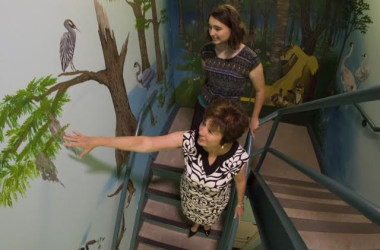 Stairway to Health:City of Tallahassee uses art to inspire and encourage exercise